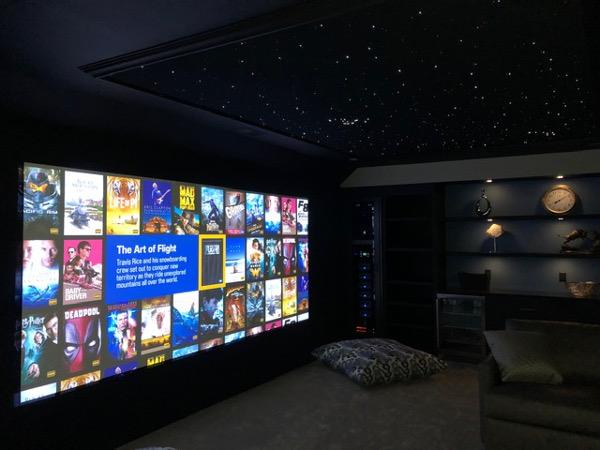 Cobb Innovations Cinema Room realisation